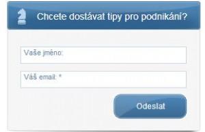 Firma Edolo výměnou za email a jméno zasílá tipy pro podnikání.