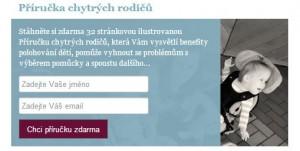 Firma Otto Bock posílá výměnou za jméno a email příručku pro rodiče hendikepovaných dětí