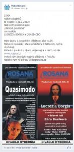 rosana facebook