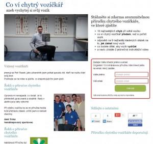 Příručka chytrého vozíčkáře společnosti Otto Bock ČR