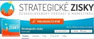 Úvodní obrázek stránky Strategické zisky