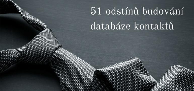 51 odstínů budování databáze kontaktů
