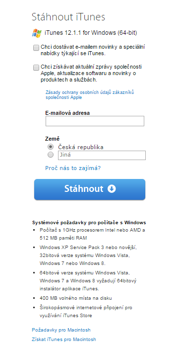 itunes 64 bits windows 7 service pack 1