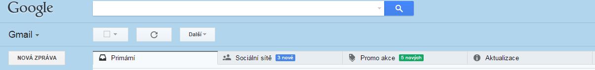 Složky na Gmailu