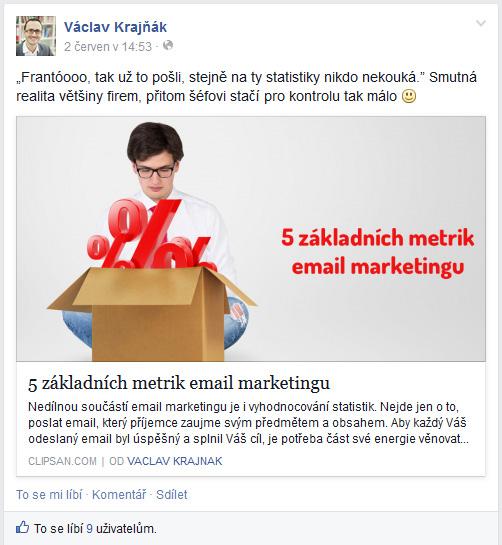Podpis autora pomocí Facebook Author Tagu