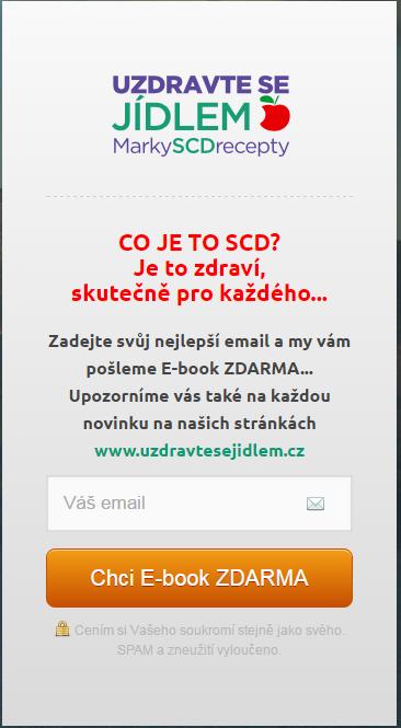Ebook zdarma výměnou za email