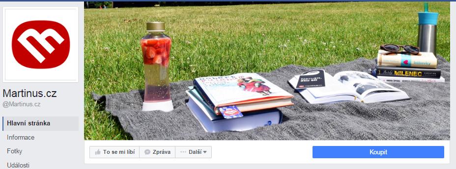 Úvodní obrázek facebookové stránky martinus.cz