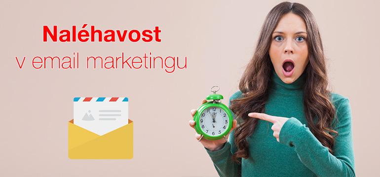Psychologie naléhavosti a její využití v email marketingu
