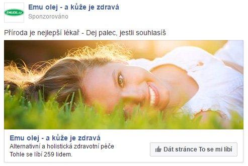 Propagace Facebook stránky