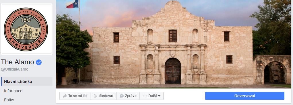Oficiální profil bitvy u Alamo