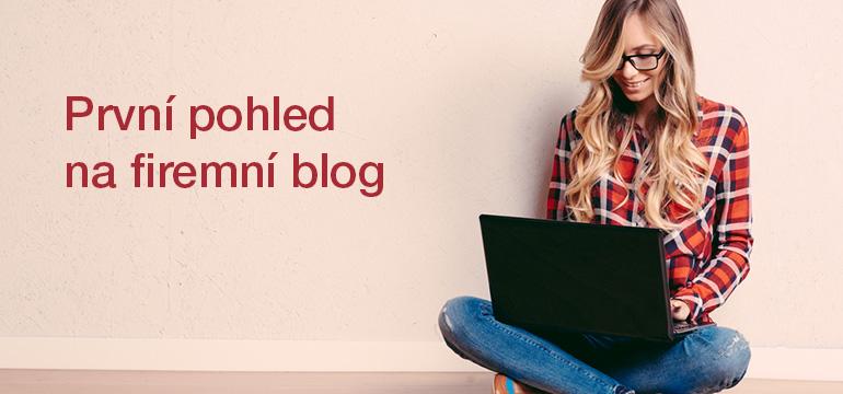 První pohled na firemní blogování