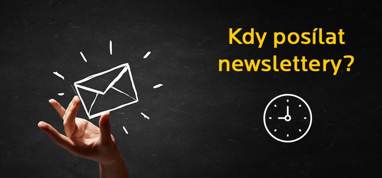 Strategický pohled na to, kdy posílat newslettery