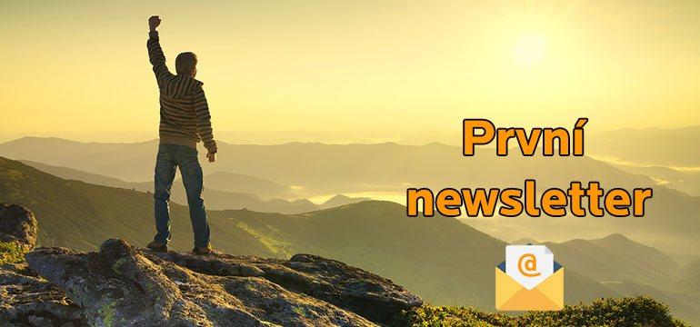Jak úspěšně připravit a rozeslat první newsletter