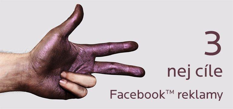 3 nejdůležitější účely reklamy na Facebooku