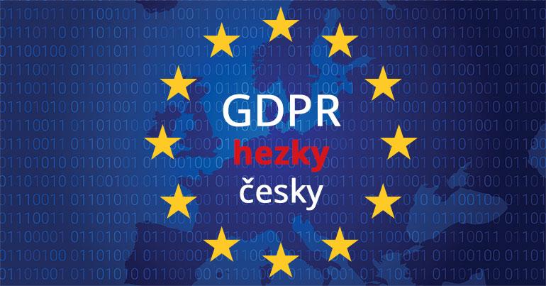 GDPR srozumitelně a hezky česky