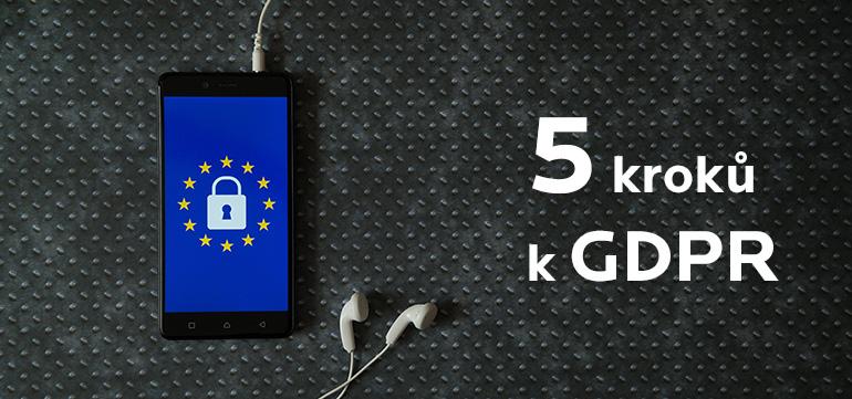5 kroků k GDPR pro blogery a digitální podnikatele