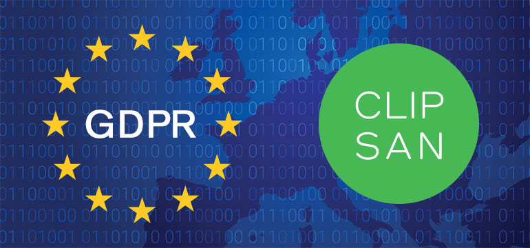 GDPR a marketingový systém Clipsan