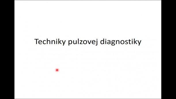 04 - Pulzová diagnostika