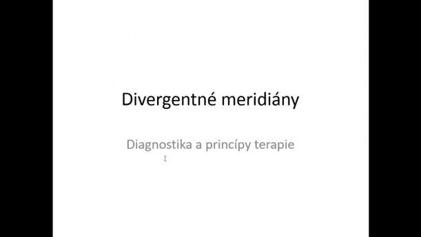 04 - Divergentné meridiány