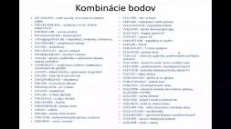 06 - Kombinácie bodov CV