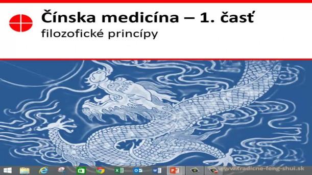 01 - Filozofia a história čínskej medicíny