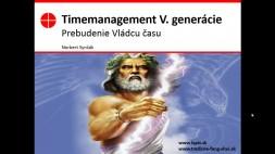 01 - Vývoj timemanagementu, pohyb vedomia po časovej osi