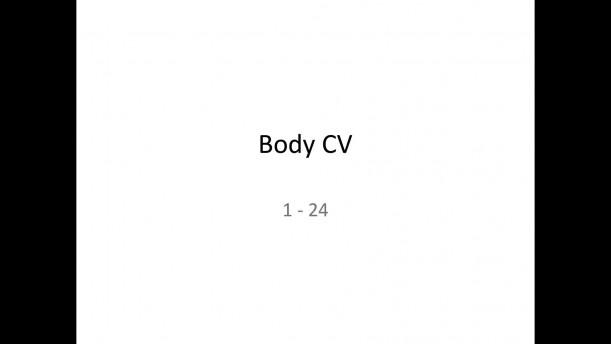 04 - CV1 a CV2