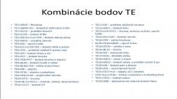 04 - TE kombinácie a GB priebeh